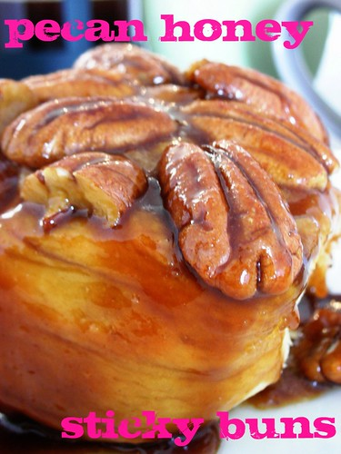 pecan honey sticky buns