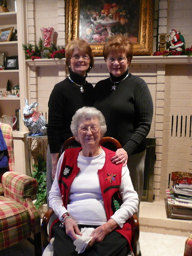 Mom, Aunt Judy and Mamaw