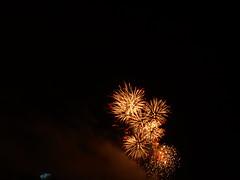 Post-IFFI fireworks, Goa 2007