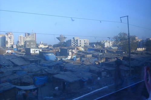 往Jodhpur火車外風景1-28貧民窟