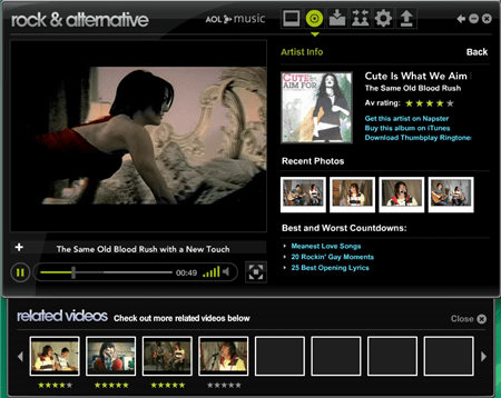 AOL Top 100 Music Videos