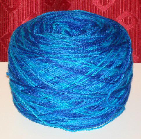blue/green laceweight from vieuxrouet