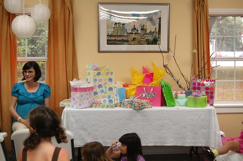 Baby shower at St. Andrew's.
