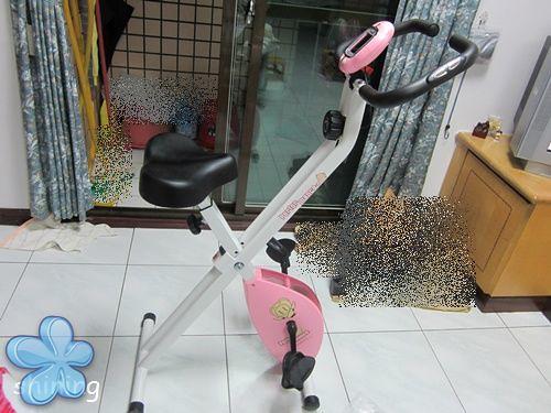 【減肥】我的X-bike 19807小粉紅開箱 @ shining小格格的天地 :: 痞客邦