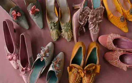 Marie Antoinette movie shoes