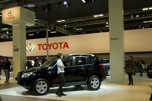 MotorShow 2007: Toyota Rav4 by Flickr user Gaspa