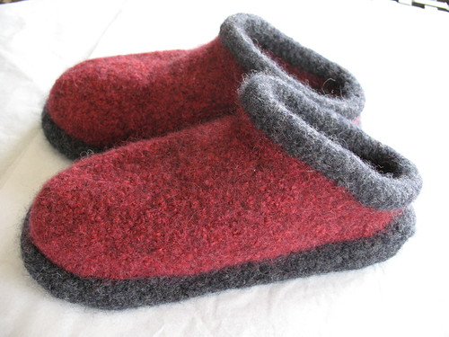 Fiber Trends Felted Clogs