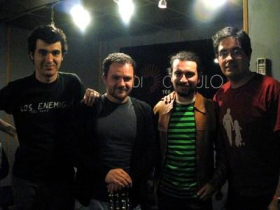 Con Sydney y JuanP de Adrede
