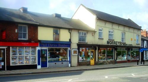 Main street in Holmes Chapel