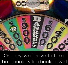 Wheel of Fortune Bankrupt