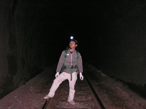 Suasana didalam terowongan