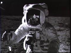 man on moon orbit