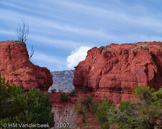 The Red Rock Window