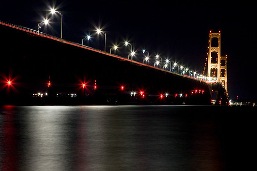 Mackinac Bridge Night Portrait - Mandj98