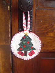 Christmas Door Knob Hanger
