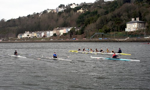 Rowing on the Lee