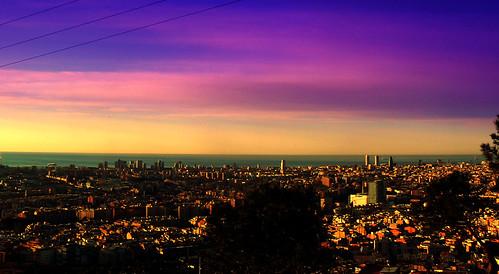 Barcelona a colores.- by ancama_99(toni).