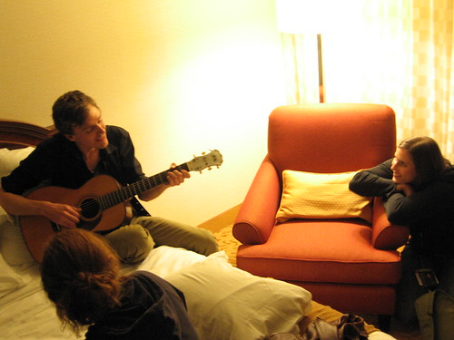 Joel Plaskett and Rose Cousins at Folk Alliance 2008