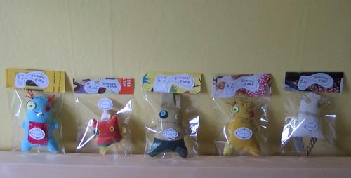 My plush packaging by junkerjane.