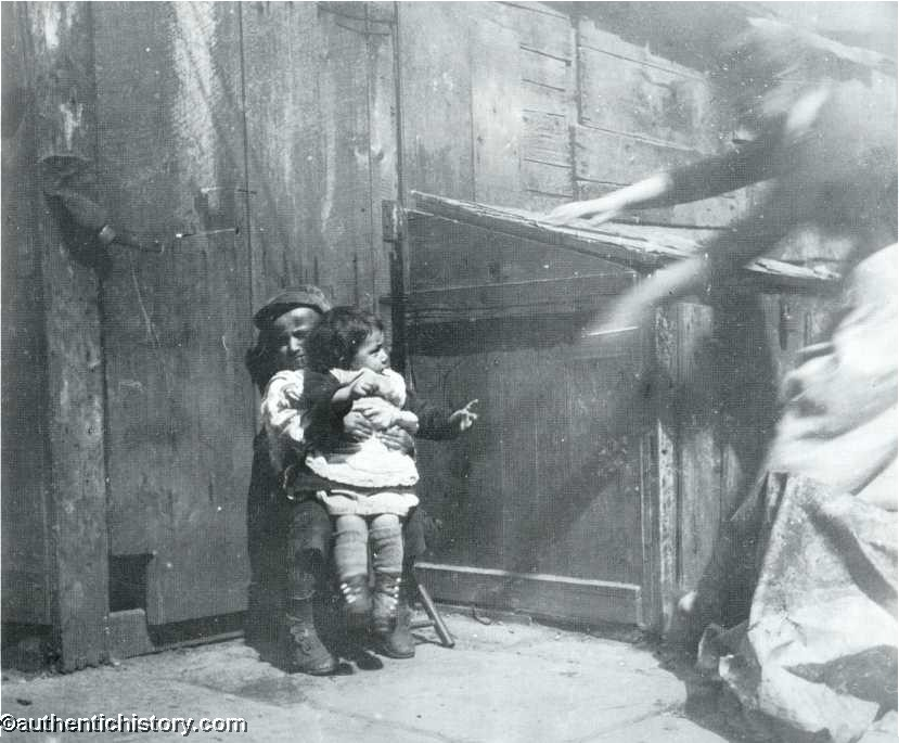 Jacob Riis, Minding the Baby