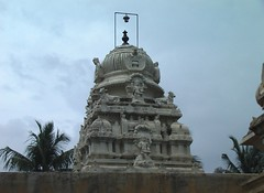 Vimanam of the main shrine