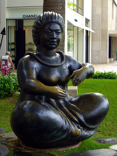 Statue downtown