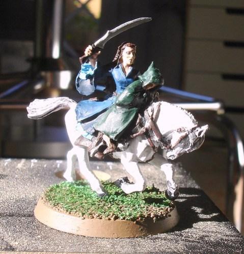 Arwen e Frodo lotr miniature
