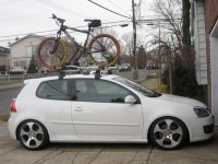 WTB: OEM GTI MkV ROOF RACK (BIKE RACK) - South Florida ...