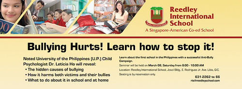 Dr. Ho Anti-Bullying Seminar details