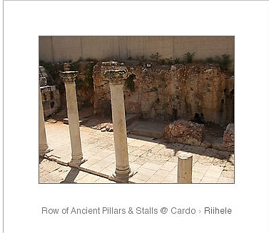 white frame pillars at cardo