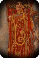 Gustav Klimt. Hygieia, 1900-7.