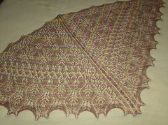 Mystic Light Shawl - complete