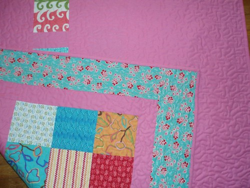 Picnic Quilt Close Up by Van Os