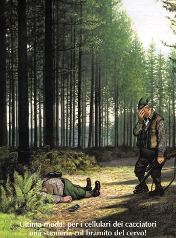 Cellulare per cacciatori