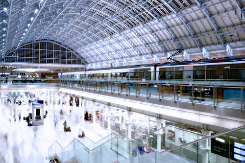 St Pancras Commercial Shot HDR HDRI high dynamic range image example