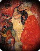 Gustav Klimt. Amigas, 1916-17.