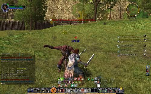 Combat Screen Shot 003