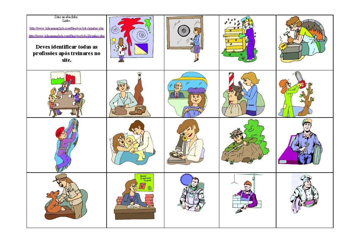 Printable Kindergarten Occupations Worksheets
