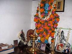 Krishna at Grandma home