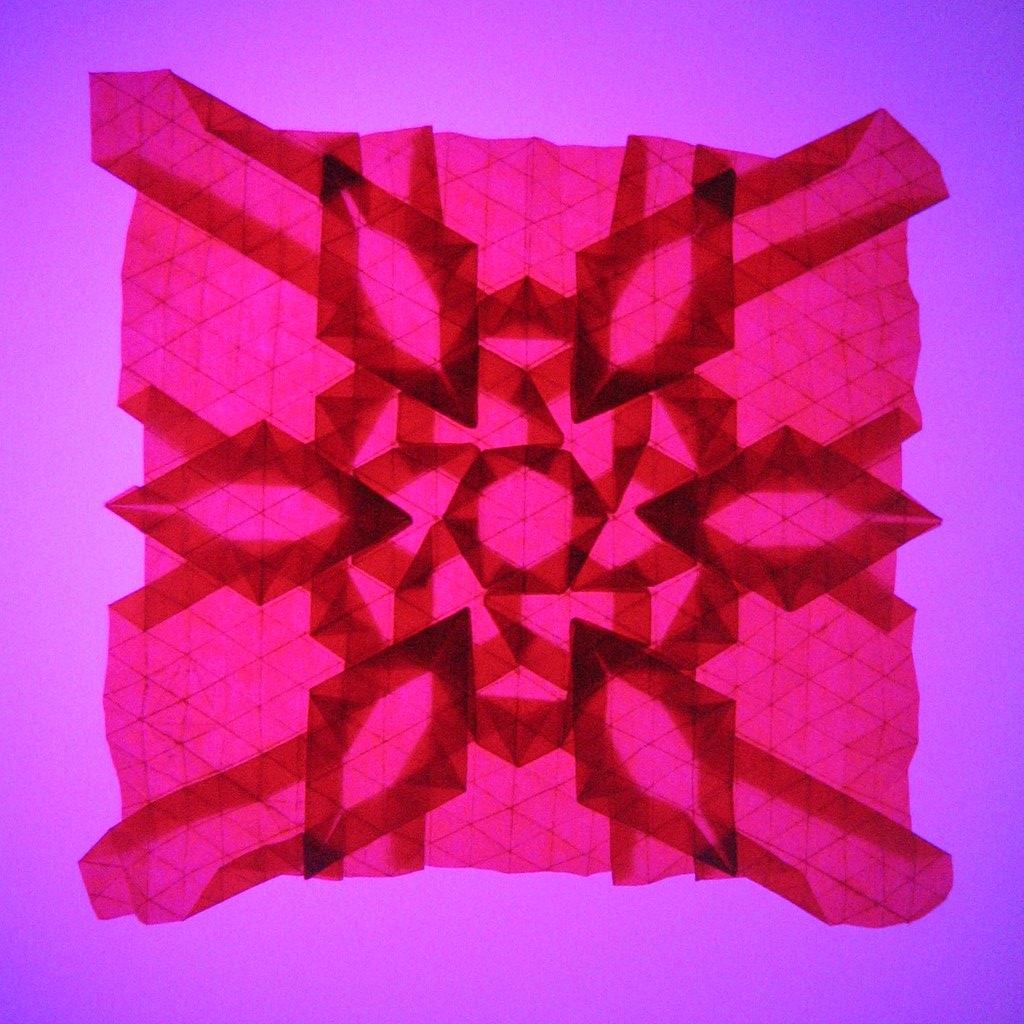 Flower Diamond Tessellation Backlight
