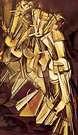 Marcel Duchamp. Desnudo bajando una escalera. 1912.