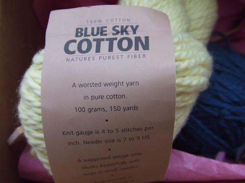 Blue Sky Cotton