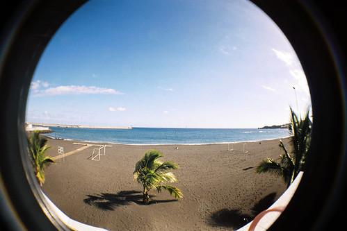 [LOMO] My town beach in XMAS