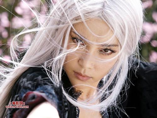 Li Bingbing as the White Haired Demoness