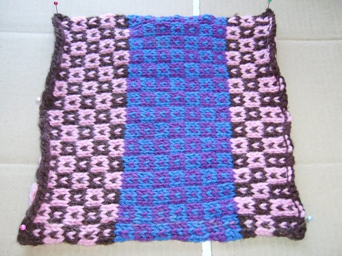 oddball sampler afghan square 19 little boxes