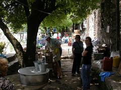 Φωτογραφίες από το μάζεμα μετά το πανηγύρι του Αγίου Ισιδώρου στην Ικαρία