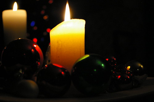 Candles and bulbs