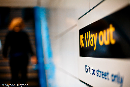 <-- Way out