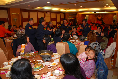 The Wei Ya banquet where employees all gather and indulge in the entertainment and food.