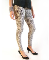 Leggings de Leopardo: Look Vintage y Kitsch